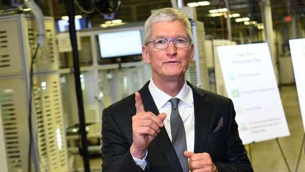 庫克:蘋果預計每週生產100萬個口罩 捐贈醫護人員(圖:AFP)