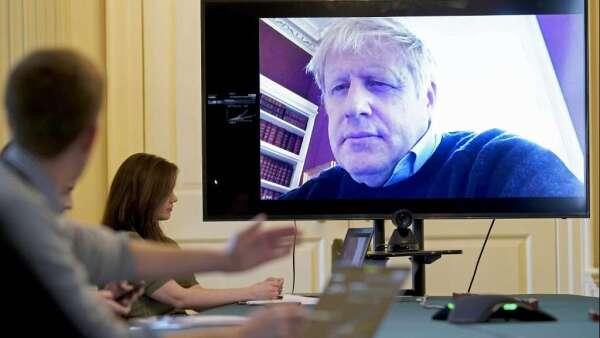 英國首相強生住院檢查 防疫工作仍面臨挑戰(圖:AFP)