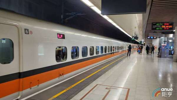 台灣高鐵3月營收續創新低。(鉅亨網記者王莞甯攝)