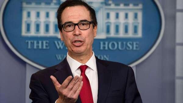 加碼救小企業! 梅努欽:額外 2500 億美元刺激計畫呼之欲出 (圖片:AFP)