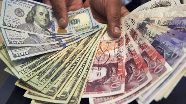 〈紐約匯市〉歐洲疫情緩和 風險情緒好轉 美元跌破100水平(圖片:AFP)