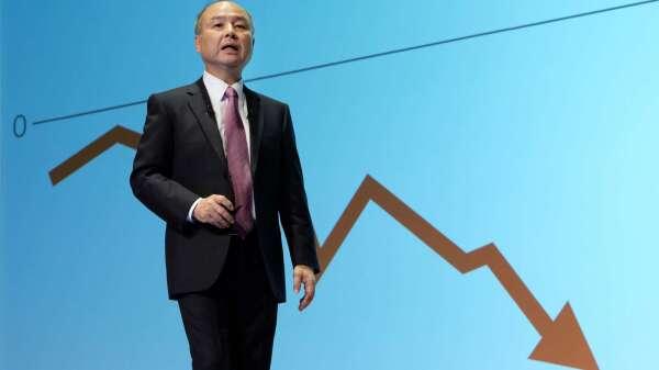 孫正義:軟銀願景基金旗下 將有至少15家公司破產 (圖片:AFP)