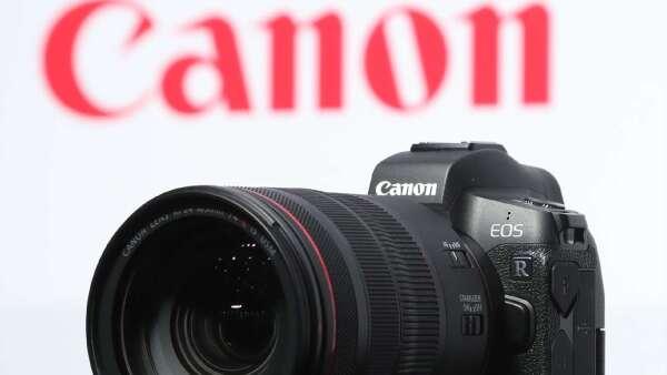 Canon新增2處停業據點 1半導體工廠停工 (圖片:AFP)
