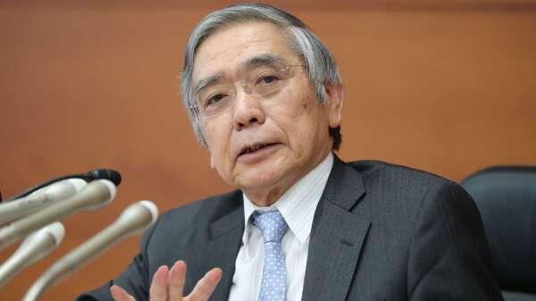 黑田東彥:武漢肺炎嚴重影響日本經濟 必要時會立刻出手 (圖片:AFP)