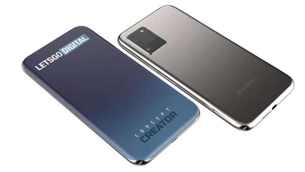 搭載四曲面螢幕 下一代三星Galaxy S系列新機長這樣? (圖:LetsGoDigital)
