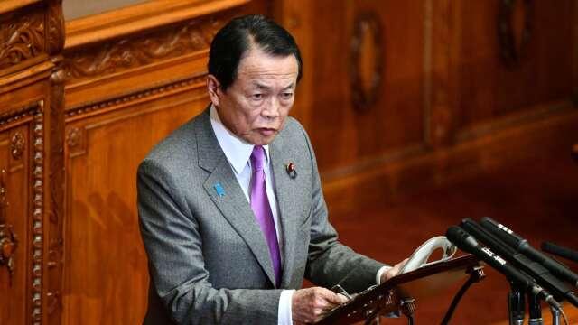 日財長:不調降消費稅率、維持既定財政目標 (圖片:AFP)