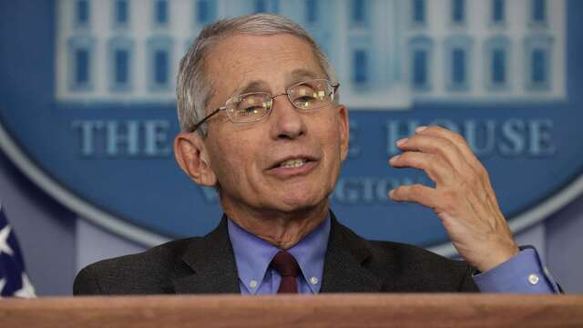 美資深防疫專家:美國有望在5月份重啟經濟(圖片:AFP)