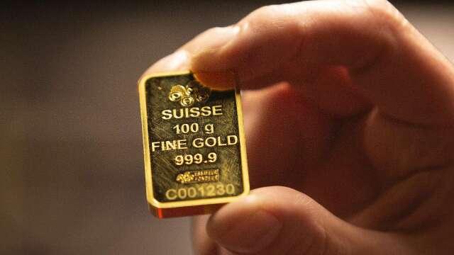 金價急漲,盯「這條線」留意獲利賣壓。(圖:AFP)