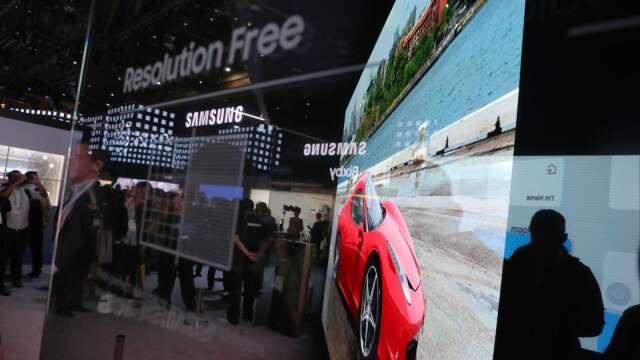 許多一線電視品牌廠第2季也將減少電視面板採購量。(圖:AFP)