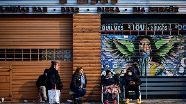 疫情遠未結束 大摩:美國疫情將迎來第二波高峰(圖片:AFP)