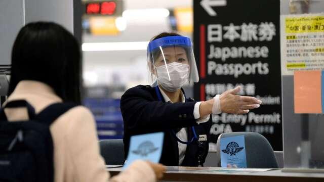 武肺重創日本觀光 3月入境旅客大減逾9成 (圖片:AFP)