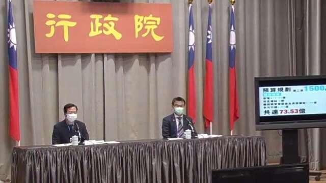 行政院政務委員龔明鑫(左)、農委會主委陳吉仲(右)。(圖:擷取自行政院)