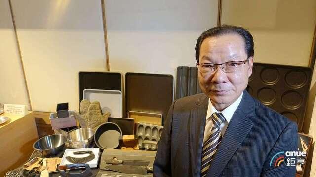 三能-KY董事長張瑞榮。(鉅亨網記者張欽發攝)