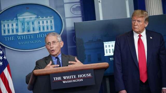 川普拼5月開放經濟 白宮衛生顧問:還不到時候(圖片:AFP)