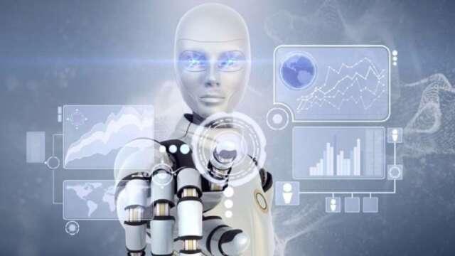 全球兩大科技巨頭蘋果、谷歌藉重AI人工智慧技術,尋求華麗轉身。(圖:AFP)