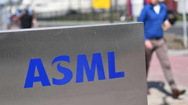 ASML Q1淨利不如預期 (圖片:AFP)