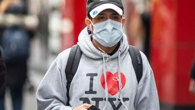 全球新冠確診破200萬 紐約州要求民眾戴口罩 德國4/20重啟經濟 (圖片:AFP)