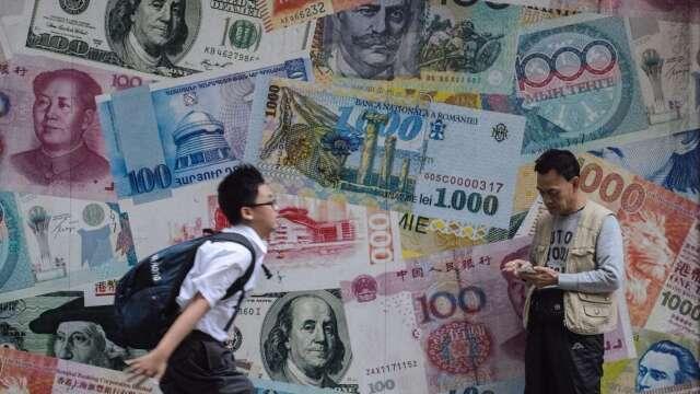 IMF表示,亞太地區今年經濟恐陷入零成長,是60年來最慘。(圖:AFP)