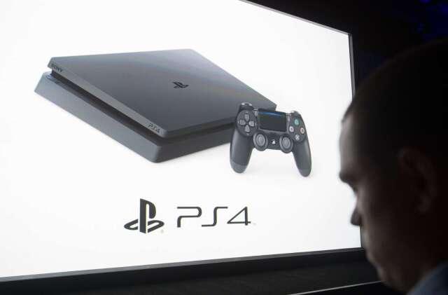 SONY PS4遊戲主機 (圖片:AFP)
