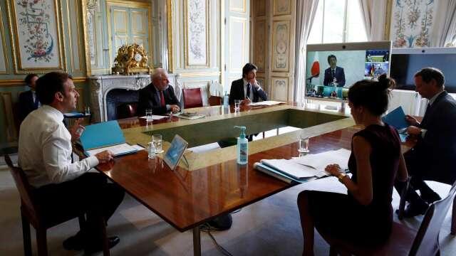 G7領袖齊呼籲:世衛應徹底檢討與改革。(圖片:AFP)
