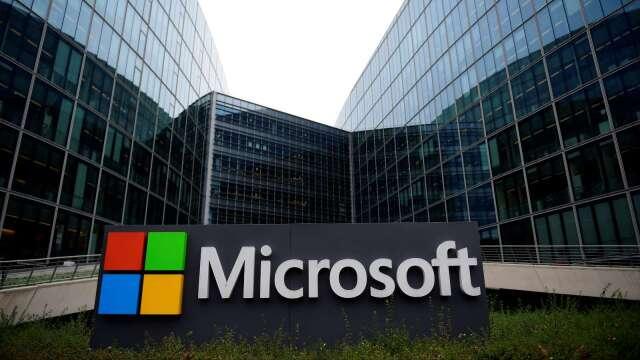 網安專家:Zoom資安威脅不斷 激勵微軟股價勁揚(圖片:AFP)
