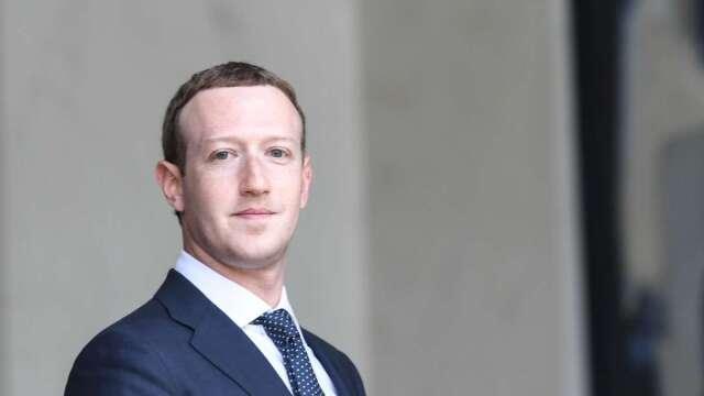 臉書超積極防疫,宣布取消明年6月前所有大型活動。(圖:AFP)