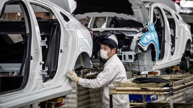 中國GDP首見單季負成長 經濟學家:外部需求不足 復甦仍將疲軟(圖:AFP)