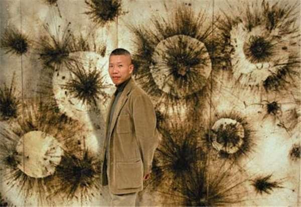 知名藝術家蔡國強與他獨有的爆破美學作品圖片來源
