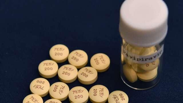 日廠增產「法匹拉韋」原料藥 產量將拉高2至3倍 (圖片:AFP)