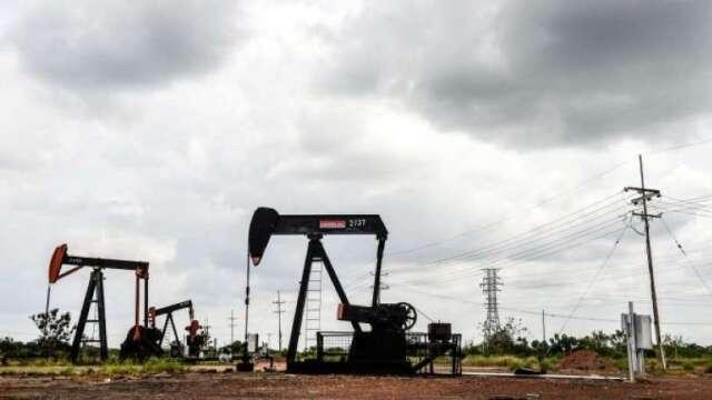 油價重挫衝擊美頁岩油業 沙國對美石油出口量大增  (圖:AFP)