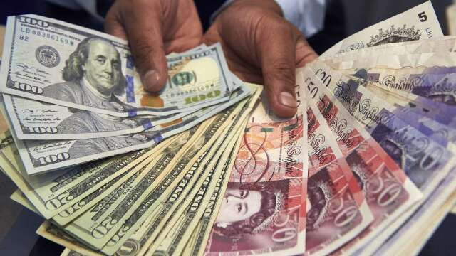〈紐約匯市〉疫情前景樂觀 避險情緒降溫 美元走軟 歐元上漲(圖片:AFP)