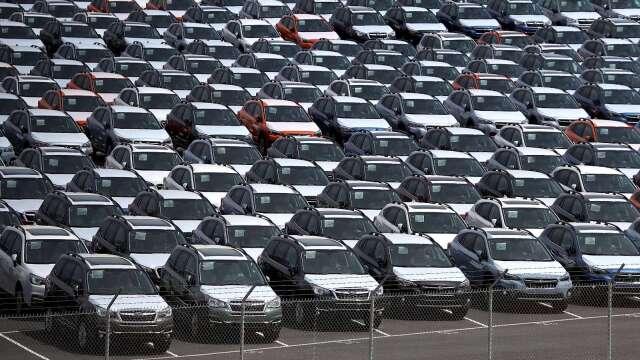 史上最慘!歐洲3月汽車銷量銳減52%(圖片:AFP)