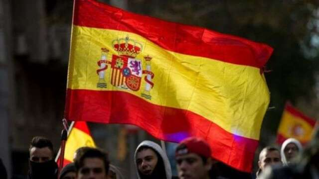 西班牙央行:預估今年GDP衰退12.4% 失業率恐攀升至21.7%(圖:AFP)
