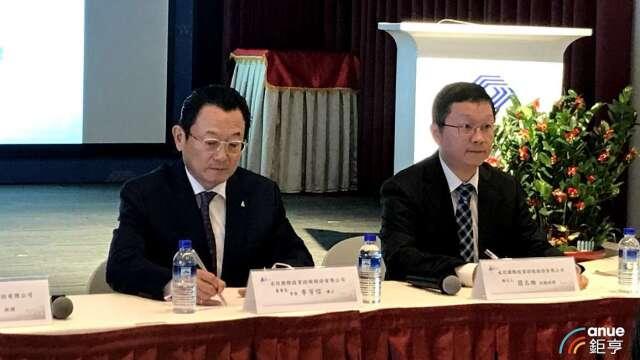 圖左為永信董事長李芳信、右為副總簡志維。(鉅亨網資料照)