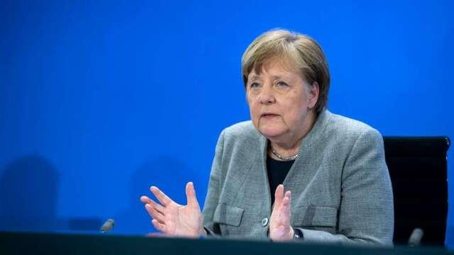 德國逐步重開經濟 梅克爾:仍需謹慎 避免第二波感染(圖:AFP)