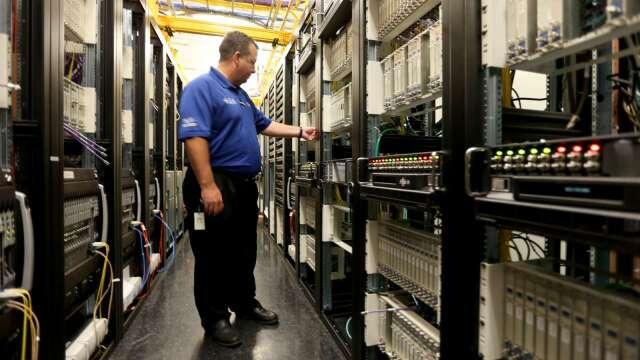 聯電採智原40奈米乙太網路IP 搶攻網通、工業自動化市場。(圖:AFP)