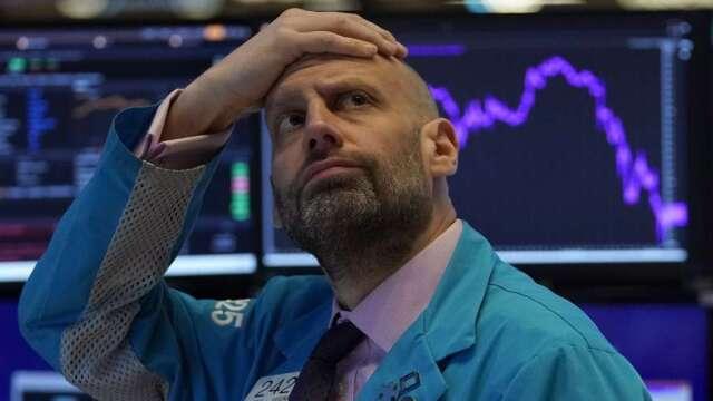 當下跌可以跌到負值 以前的風險模式都可以刪掉了(圖:AFP)