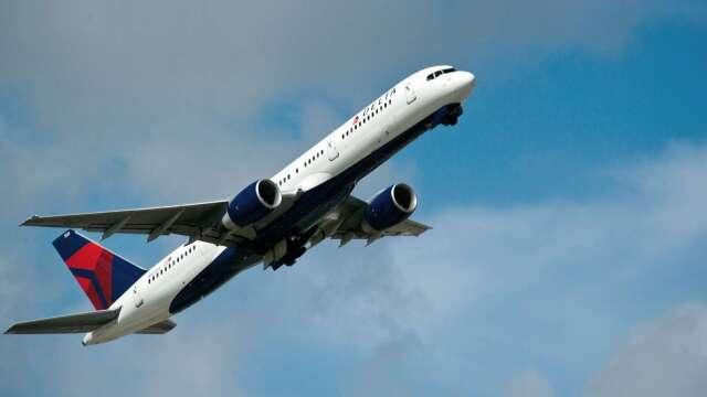 〈財報〉達美航空Q1日燒1億美元 創8年首度虧損 (圖:AFP)