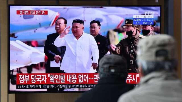 澄清命危說!南韓:金正恩照常執行公務 (圖片:AFP)
