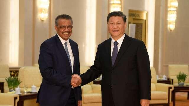 中國外交部:再向世衛加碼3000萬美元捐款 (圖:AFP)