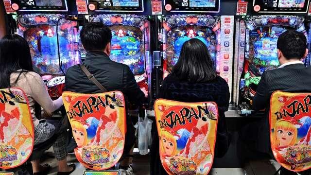 日本小鋼珠生意旺 (圖片:AFP)