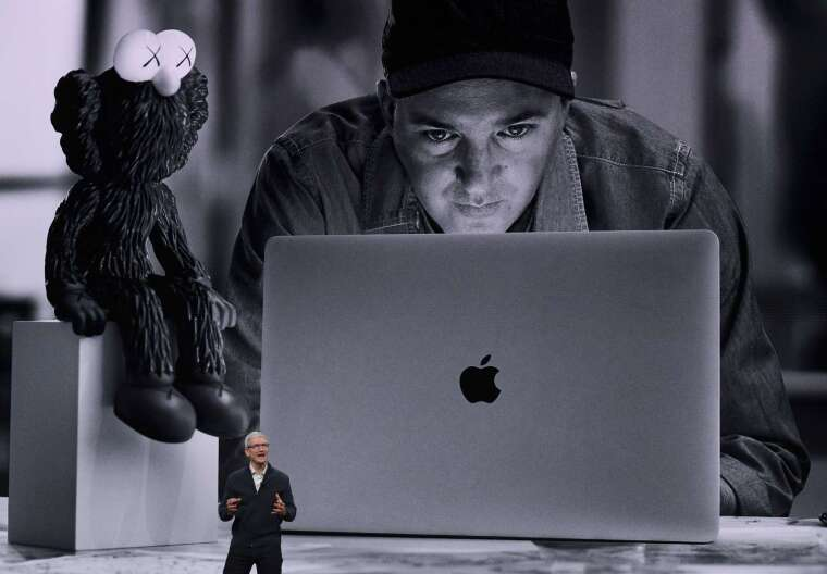 蘋果將推採用自家晶片的 Mac。(圖片:AFP)