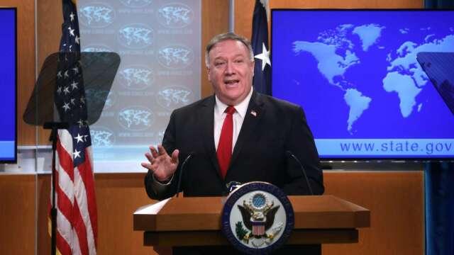 美國務卿警告:世衛再不改革 美國將永遠撤資 (圖片:AFP)