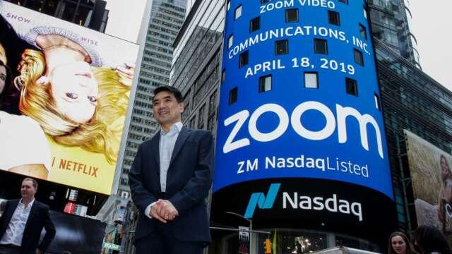 3億人達標!Zoom用戶人數一個月內激增50% 股價再飆12% (圖片:AFP)