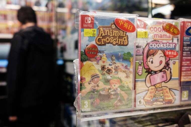 任天堂森友會大賣!將創日本 NS 遊戲銷量紀錄 (圖片:AFP)