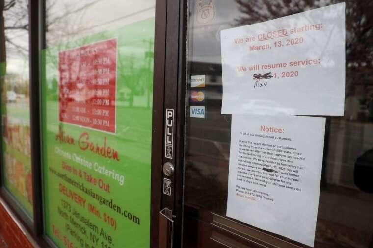 許多餐廳已先歇業 (圖: AFP)