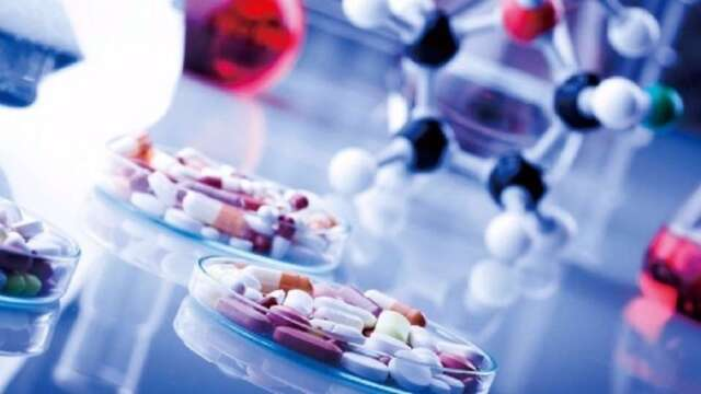 全球疫情確診人數下降,才可望拉動相關製藥企業的獲利回穩。(圖:AFP)