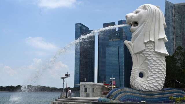 穆迪:日本、新加坡恐成亞洲區受疫情衝擊最嚴重的經濟體(圖片:AFP)