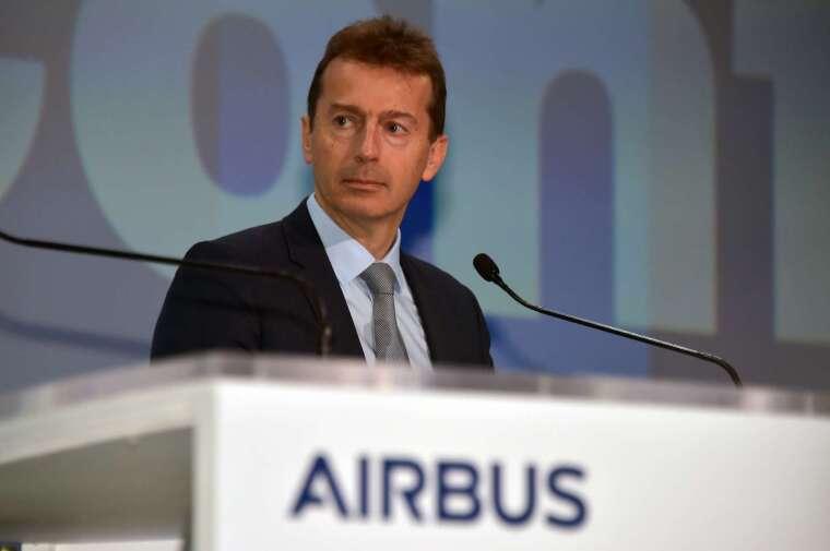 空中巴士執行長 Guillaume Faury (圖:AFP)