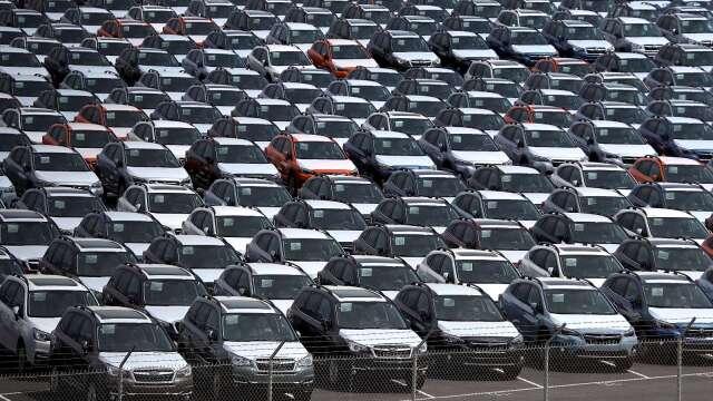 上年度日本乘用車全球生產年減7.6% 後續展望看衰 (圖片:AFP)